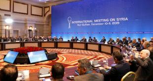 جولة جديدة من محادثات أستانا حول الوضع في سوريا بآخر أكتوبر الجاري