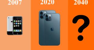 كيف سيبدو شكل هواتف آيفون في عام 2040؟