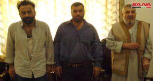 الأمن السوري يحرّر مخطوفين من قبل مجموعات خارجة عن القانون في السويداء