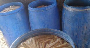 حماية المستهلك تضبط مواد فاسدة في معامل لصناعة الأغذية بريف دمشق