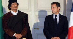 ساركوزي رهن التحقيق بسبب القذافي