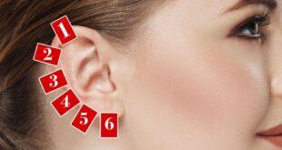 6 نقاط تدليك على الأذن لعلاج الأمراض المستعصية