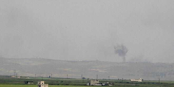 الطيران الحربي السوري يدمر 8 مدرعات لـ النصرة في جبل الزاوية جنوب إدلب