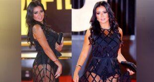رانيا يوسف تثير الجدل من جديد.. ظهرت بفستان قصير والجمهور يذكرها بالتحرش!