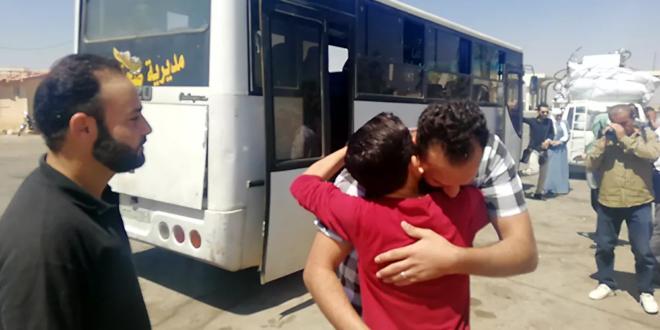 عودة 530 لاجئا إلى سوريا من أراضي لبنان خلال الساعات الــ24 الأخيرة
