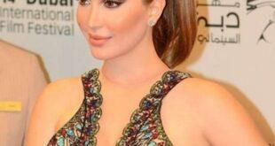 نسرين طافش تخطف الأنظار في مهرجان الجونة السينمائي