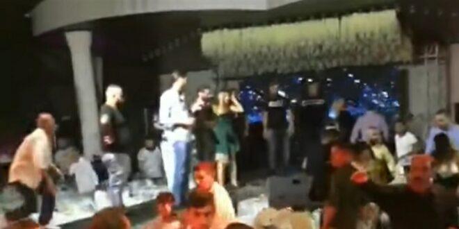 تضارب واقتحام مسرح خلال حفل وديع الشيخ وحسن شاكوش وعمر كمال .. شاهد