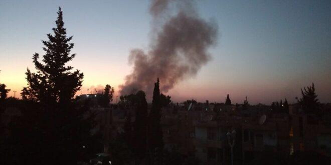 مصدر عسكري سوري : سقوط طائرة استطلاع أمريكية في ريف الحسكة