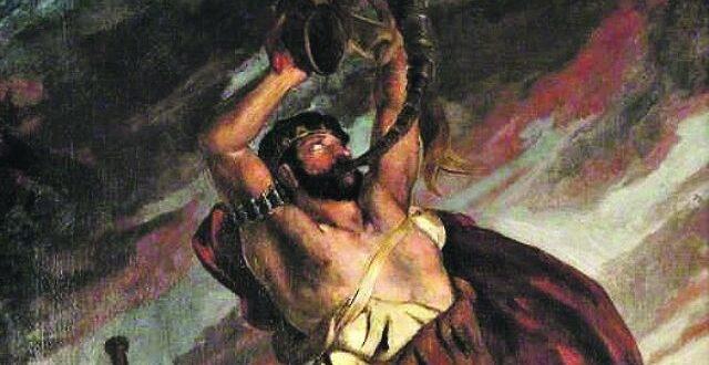 نمرود ادعى الألوهية وحاول حرق النبي إبراهيم، وقتلته بعوضة