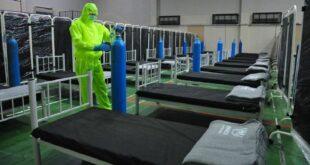 الصحة السورية تجهز مشفى للطوارئ في دمشق