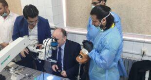 «طب الأسنان» بدمشق تفتتح المخبر الأول من نوعه في الشرق الأوسط للتدريبات المجهرية