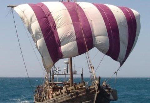 السفينة الفينيقية التي تم بنائها في سوريا تصل الى ولاية فلوريدا بعد رحلة استمرت خمسة أشهر