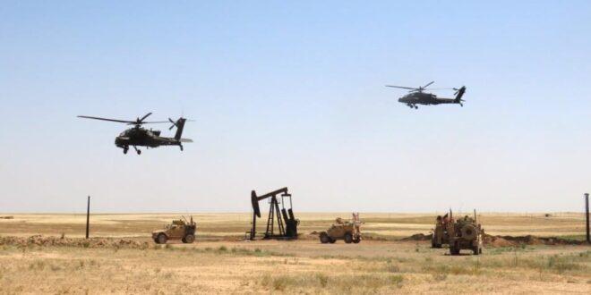 مصادر: الطيران الأمريكي يطارد مروحيات روسية في سماء الحسكة