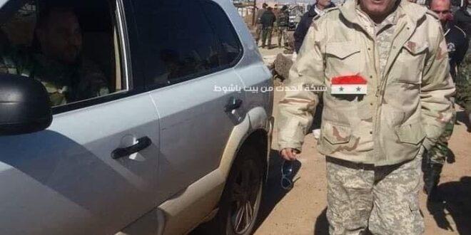 """استشهاد العميد """"عارف حسن"""" ضابط أمن الفرقة التاسعة"""