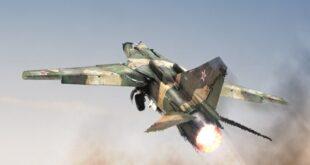 الطيران الحربي السوري يحيد 30 مسلحا صينيا شمالي البلاد