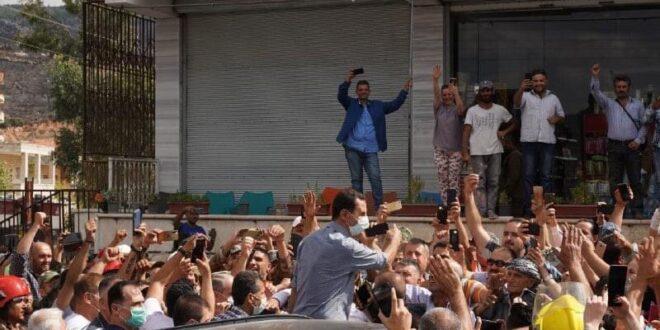الرئيس السوري يزور قرية مشتى الحلو في صافيتا