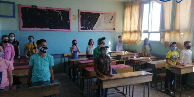 أربع إصابات بكور ونا في مدارس اللاذقية