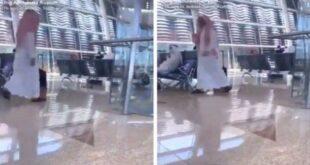 المسيح الدجال يظهر في السعودية ويطلب من الناس مبايعته..
