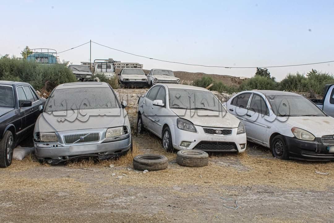 مرور دمشق يضبط العشرات من السيارات المذاع البحث عنها