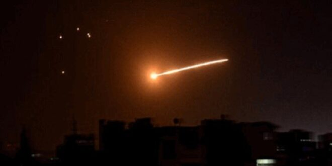 قصف إسرائيلي ستهدف جنوب سوريا ليلة أمس