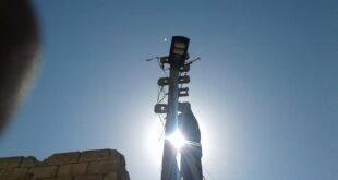 حلب تنير قرى بريفها المحرر بـ الطاقة الشمسية