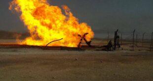 قصف مجهول لحراقات النفط السوري المسروق شمالي سوريا