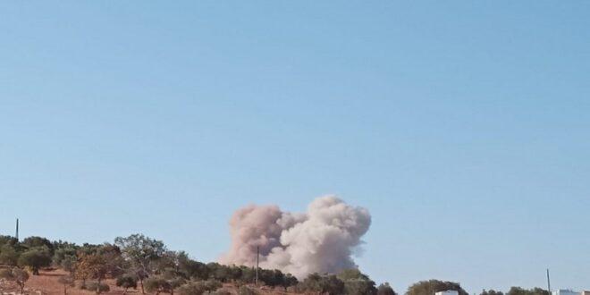 سلاح الجو الروسي يستهدف مواقع لفيلق الشام في ريف ادلب
