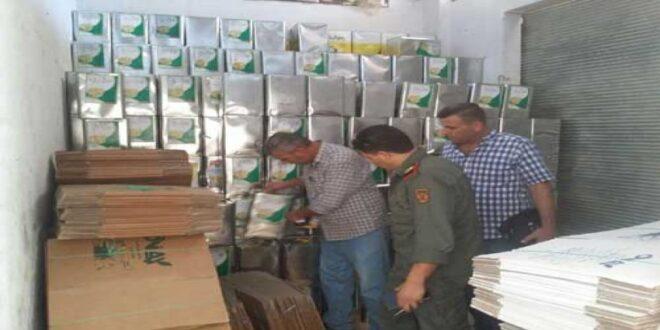 سوريا : أطنان من الزيت المغشوش بماركات مزورة