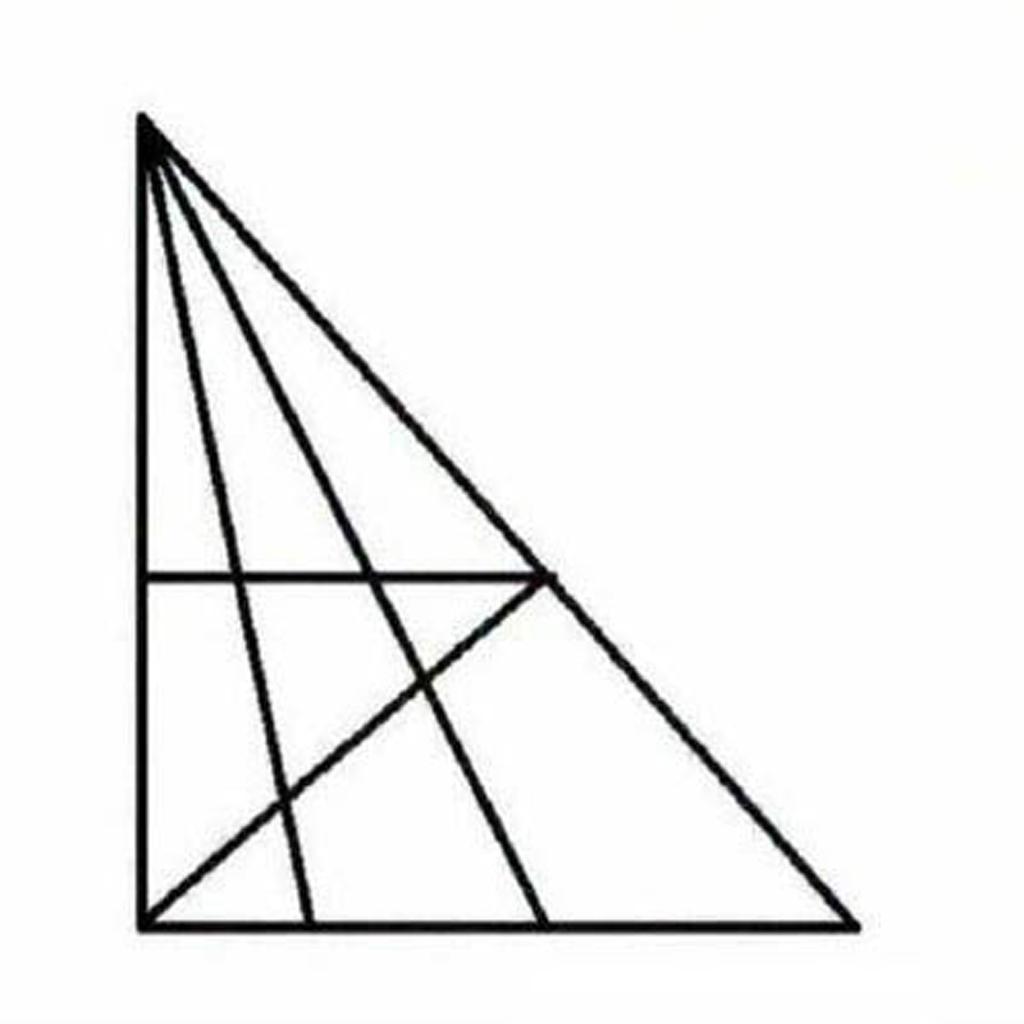 يجب أن يكون مستوى ذكائك IQ عالياً جداً لتعرف الجواب : كم من المثلثات ترى في هذه الصورة ؟