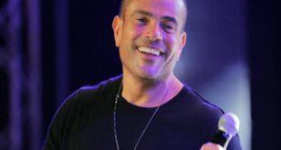 """بشعر أصفر.. عمرو دياب يشعل مواقع التواصل بـ""""نيو لوك"""""""