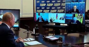 مسؤول روسي جائع يحرج بوتين.. شاهد!