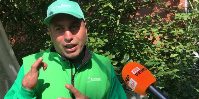 """""""الملوخية في شتوتغارت"""".. مشروع لاجئ سوري شُفي من السرطان!"""
