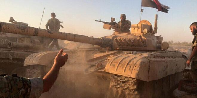 الجيش السوري يتصدى لهجوم عنيف على مواقعه في حماه