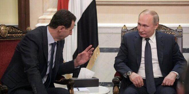 الرئيس الأسد: أريد لقاء بوتين قريباً