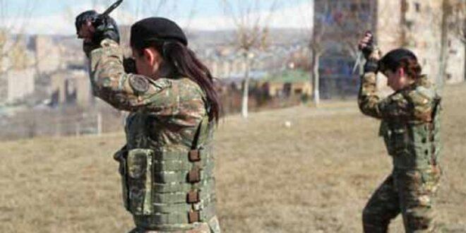 أرمينيا تعلن عن تشكيل كتيبة نسائية للقتال في قره باغ
