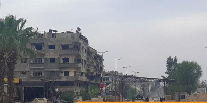 Screenshot 2020 10 09 سوريا مرحلة عودة المهجرين الأولى إلى مخيم اليرموك تشمل ما يزيد عن 100 ألف شخص