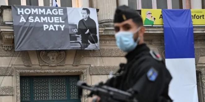 Screenshot 2020 10 22 قاتل المدرس الفرنسي كان على اتصال بجهادي في سوريا تلفزيون الخبر اخبار سوريا