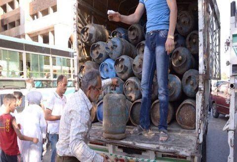 مسؤول: اسطوانات الغاز التي تباع على الطرقات دخلت تهريباً