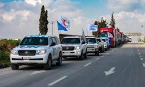 سبع دول تطالب بإيصال المساعدات إلى سوريا