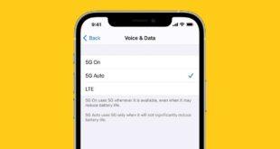 آيفون 12.. كيفية ضبط إعدادات 5G لتقليل استهلاك البيانات وطاقة البطارية
