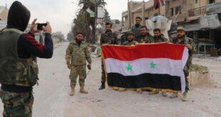 مناشير اسرائيلية تحمل رسائل تهديد للجيش السوري.. شاهد!