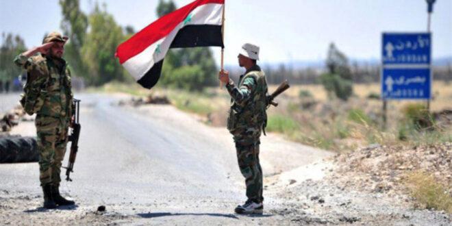 الجيش السوري يعزز قواته في شرق درعا