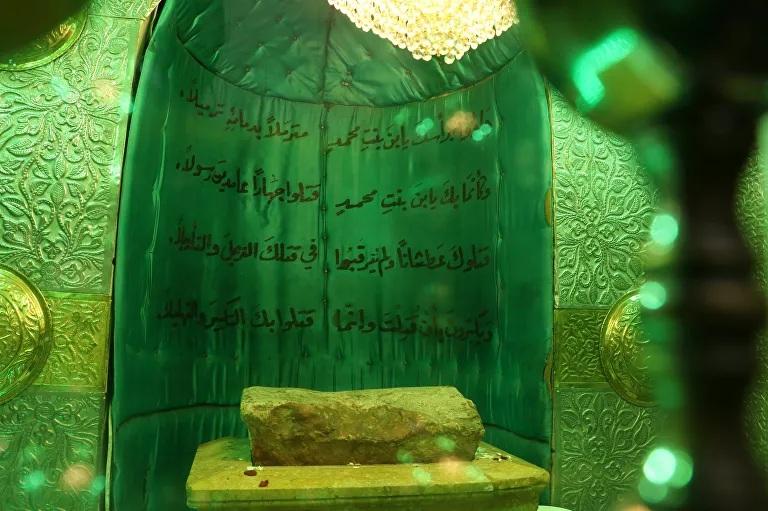صخرة الحسين تعود إلى حلب بعد سنوات على إخفائها..