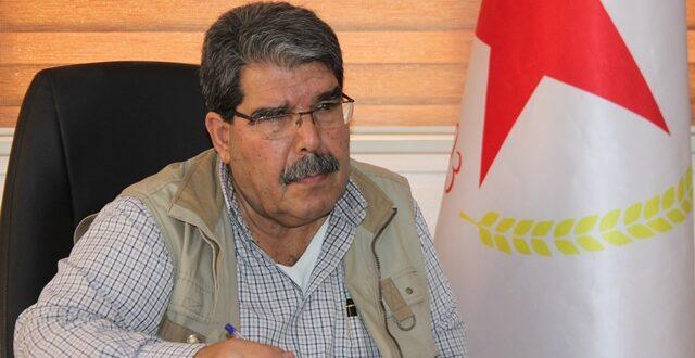 """صالح مسلم: لا يمكن القبول بطلبات تنهي """"الإدارة الذاتية"""""""