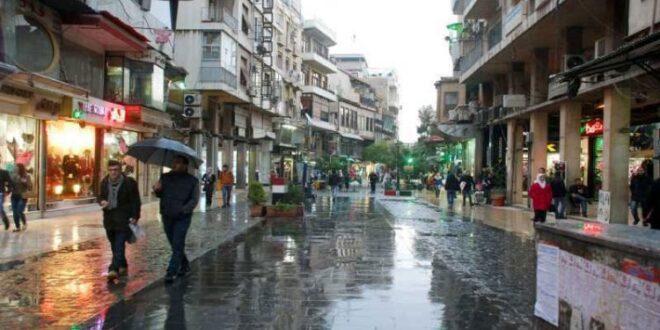 هطولات مطرية.. أغزرها في دمشق والصنمين بدرعا