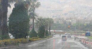 منخفض جوي ماطر يتجه نحو سوريا