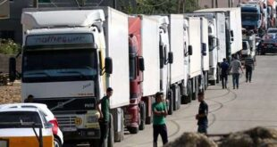 كيشور: السلطات الأردنية لم تسمح بدخول الشاحنات السورية العالقة في مصر حتى الآن