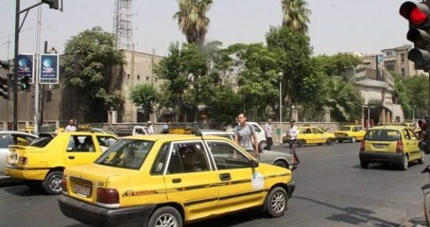 إقرار تعرفة جديدة لأجور التكاسي خلال أسبوع في دمشق