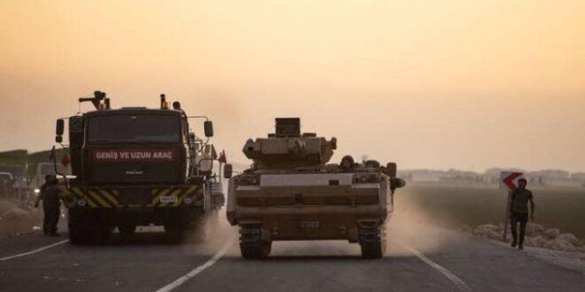الجيش التركي يبدأ بإخلاء نقطة شير مغار العسكرية غرب حماة