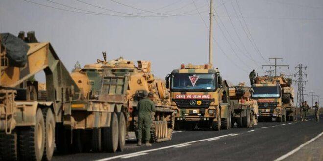 تركيا تحشد في إدلب